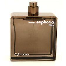 EUPHORIA INTENSE Calvin Klein 3.4 oz EDT Men's Spray Cologne  Tester 3.3
