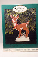Hallmark: Rudolph The Red Nosed Reindeer - 1996 Keepsake Collector Club Ornament