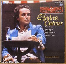 Giordano Andrea Chénier on Laserdisc José Carreras Eva Marton La Scala Chailly
