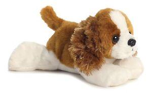 NEW AURORA FLOPSIES KING CHARLES SPANIEL PLUSH CUDDLY SOFT TOY PUPPY DOG TEDDY
