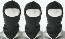 MOTOR RACING SILK BALACLAVAS ONE SIZE FITS ALL -MULTI 3 PACK- ONLY £9.99