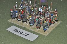 25mm roman era / sassanid - cavalry 12 cavalry - cav (20028)