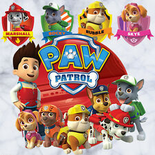 17 Pcs Paw Patrol Wall Stickers Removable Kids Nursery Boys Decor Art Mural Gift