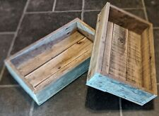 Hand-Made Rustic Traditional Wooden SEED / SEEDLING TRAY