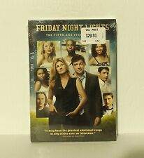 Friday Night Lights: Season Five Final Season (DVD, 2011, 3-Disc Set) NEW REG 1