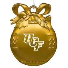 University of Central Florida - Pewter Christmas Tree Ornament - Gold