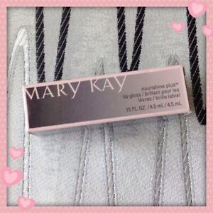 New In Box Mary Kay Nourishine Plus Lip Gloss Fancy Nancy #047935 Full Size