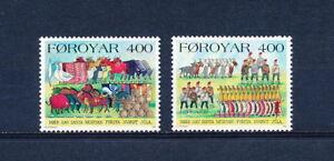 Faroe  Islands  274-5 MNH, Christmas, 1994