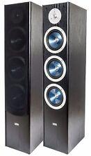 Wolf-Akustik Triton 100 F Hifi - Stand -Lautsprecher Paarpreis schwarz NEU Top !