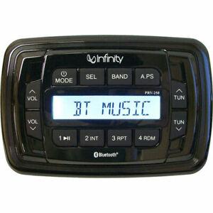 Infinity PRV250 Boat Radio, 200 Watt, Bluetooth, Stereo