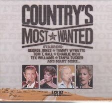 NEW CD - COUNTRY'S MOST WANTED - 3CD SET