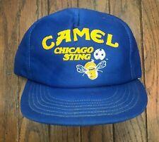 Vintage Camel Chicago Sting Soccer Mesh Trucker Hat Snapback Hat