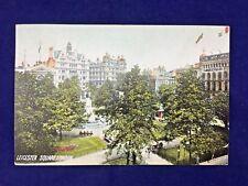 Leicester Square London 1908 Antique Postcard (N9#135)