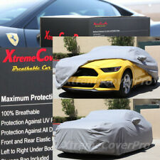 2016 2017 2018 2019 2020 FORD MUSTANG BREATHABLE CAR COVER W/MIRROR POCKET -GREY