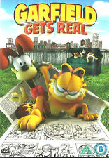 Garfield GETS REAL (CGI Movie) New but UNSEALED Region 2