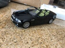 1:18 Kyosho  BMW 3 Series M3  Convertible Black - 2008 cabrio