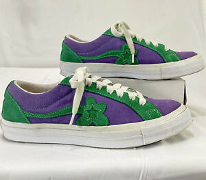 Converse Golf Le Fleur Shoes Jolly Green & Purple Tyler Creator US 9.5 EUR 43