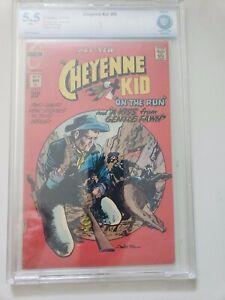 CHEYENNE KID #95 CBCS 5.5 WHITE PAGES CHARLTON COMICS WESTERN 1973