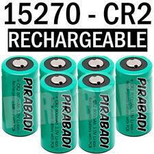6 PILE ACCU BATTERIE 15270 CR2 CR-2 Li-ion 3V 800Mah RECHARGEABLE