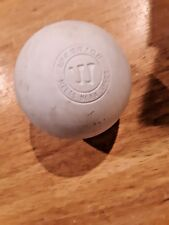 Warrior White Lacrosse Ball, Meets Ncaa Nfhs Specs Massage Therapy dog toy
