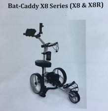 NIB Bat Caddy Electric Golf Caddy X8R Silver