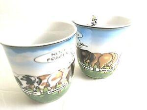 Hösti Becher 2 Stück Kühe  Milch, Cappuccino,Kaffee,Kakao