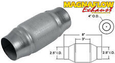"2.5"" 63mm Centre 200 Cell Universal Magnaflow Metallic Sports Cat 59956"