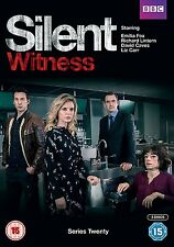 SILENT WITNESS Stagione 20 Serie completa BOX 3 DVD in Inglese NEW .cp