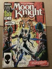 Marvel Comics Moon Knight  # 1    (1985)   Chris Warner art! Very Nice! Error!