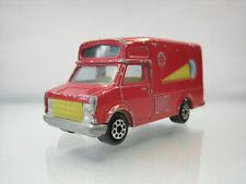 Diecast Majorette Fourgon Ice Cream Car No.224-259 Red Good Condition