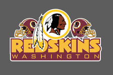 Washington Redskins window bumper decal 6x3.5