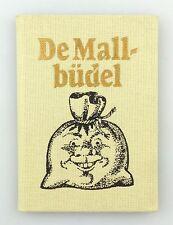 #e6167 Minibuch: De Mallbüdel - plattdeutsch - plattdütsches Lachen