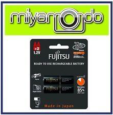 Fujitsu 2AA 2450mAh Rechargeable Battery (1-Pack)