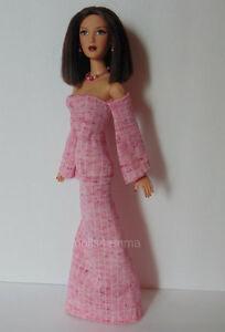 Alexandra Ford ALEX Doll Clothes Handmade GOWN & JEWELRY SET Fashion NO DOLL