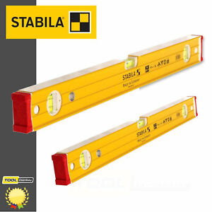 "STABILA 96-2 Spirit Level 120cm / 4' / 48"" & 60cm /24"" / 2ft Twin Pack NEXT DAY*"