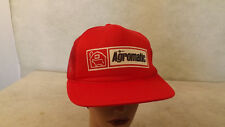VTG 80's Agromatic Dairy,Farm Equipment Dealer Fond du Lac Mesh Snapback Hat/Cap