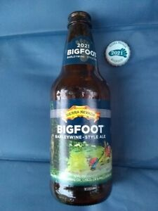 BEER BOTTLE    BIGFOOT 2021 with CAP