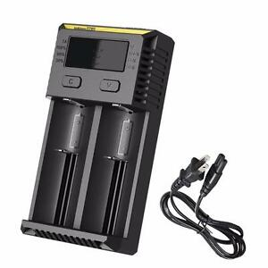 Nitecore i2 2016 Intellicharger Charger for 18650 16340 RCR123A 14500 and more