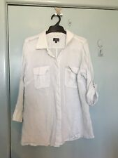 Sportscraft very pale blue shirt in size 12