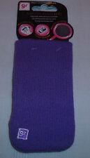 Púrpura GLAM ROX Gr Calcetín iPHONE 4/S Universal (1st clase P + P)