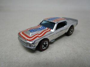 Vintage 1974 Hot Wheels REDLINE ERA *MUSTANG STOCKER* (CHROME) 1:64 (Case P)