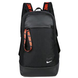 Nike Travel School Bag Casual Backpack - Black / Blue / Red