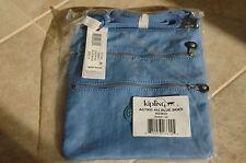 """NWT KIPLING Keiko Crossbody Handbag - Blue Skies - 8"""" x 9"""" x 1.25"""""""