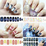 3D Nature Water Transfer Nail Art Sticker Glitter Decal Manicure Tips DIY Wraps