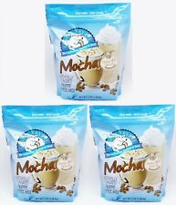 3 BAGS Caffe D'Amour Frappe Freeze MOCHA Hot Cold Coffee Drink Mix 3 LBS EACH