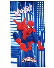Toalla de Playa Microfibra Spiderman 70x140 Original Marvel Piscina Playa Niños