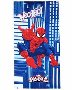 TELO MARE Microfibre Spiderman 70x140 Original Marvel Swimming Pool Beach Child