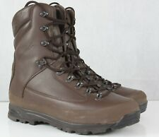 More details for genuine surplus british forces karrimor brown gore-tex lined boots leather