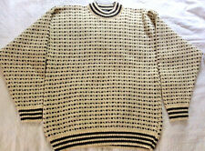 JANUS OF NORWAY MENS 70%  WOOL 30% VISCOSE  SWEATER PULLOVER SIZE XL