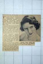 1949 Amanda Blake Makes Screen Debut With Joel Mccrea In Stars In My Crown